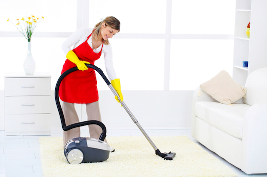 One of the services of the Extra Help franchise is cleaning!